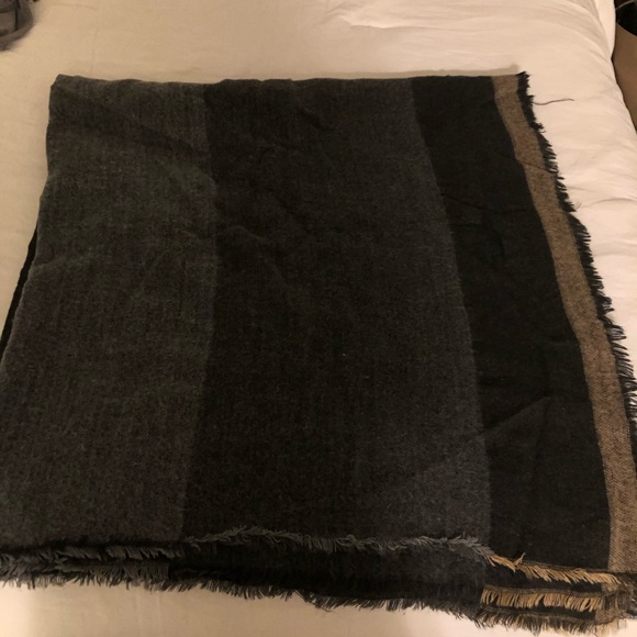 Zara large square scarf
